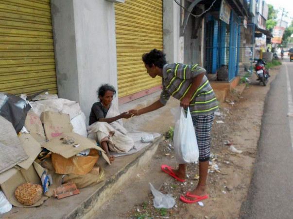 "Help ""Anna Kshetra"" feeding people in need!"