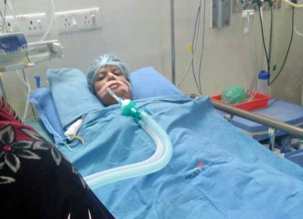 I am fundraising to help my friend suffering from Guillain Barre Syndrome, is in serious condition now