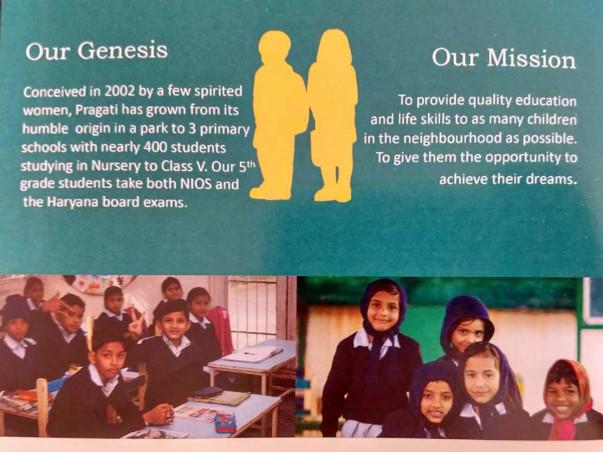 Contribute towards education of underprivileged children