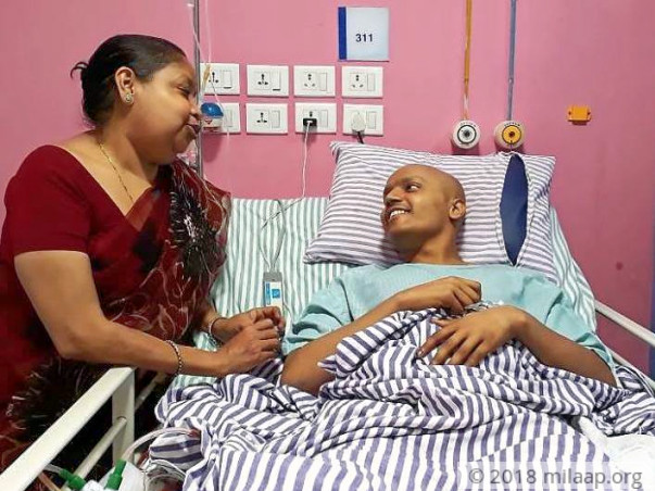 Help Akash fight a cancerous tumor in his body