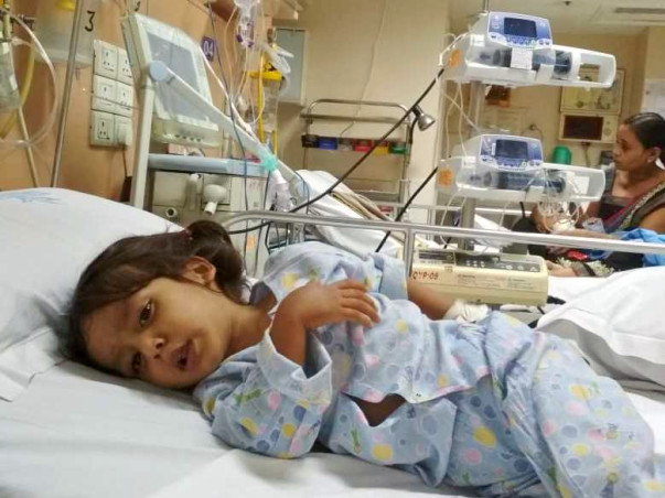 Help My Child Aarush Fight Heart Disease