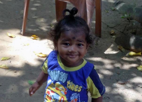 Help a child walk