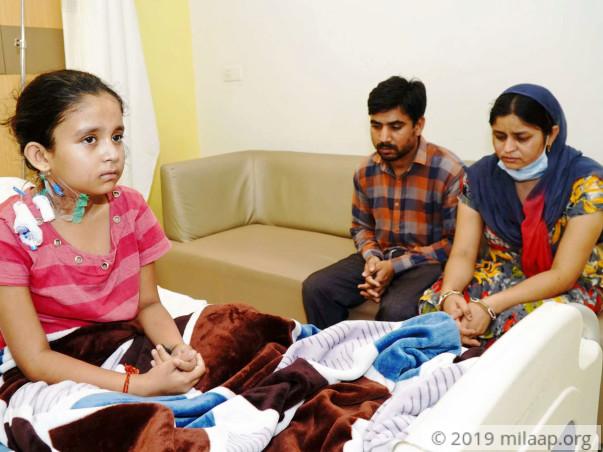 Help Priyanshi Fight Aplastic Anemia