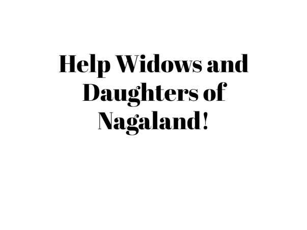 Help Widows and Daughters !