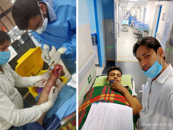 Support Rajeshwar Paswan Recover From Orthopedic Surgery