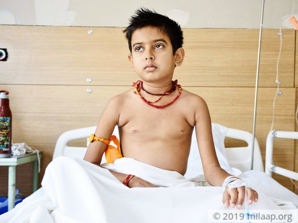Pushpendra needs your help to undergo treatment