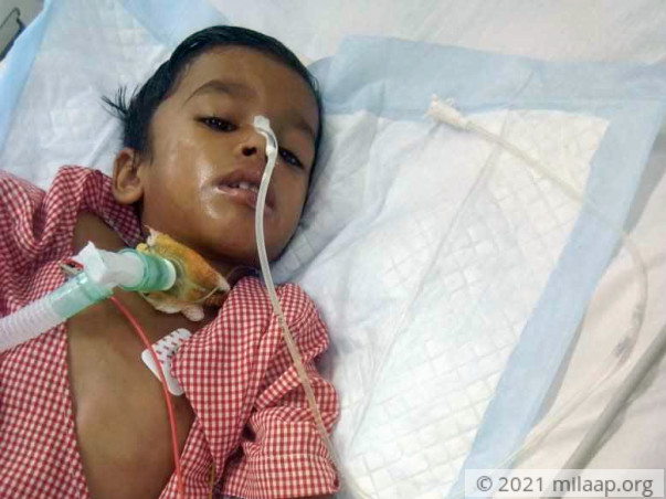 Mast. Siyaram needs your help to fight disease