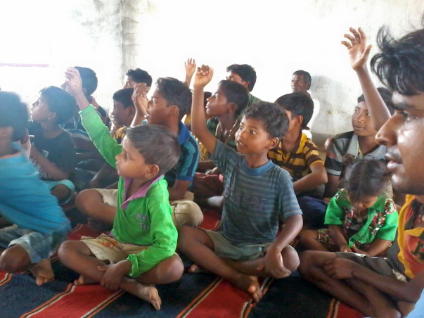 I am fundraising to help children in naxal affected area in getting quality education