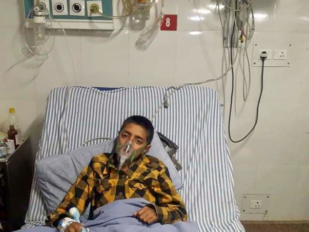 Sajjad needs your help to fight cancer