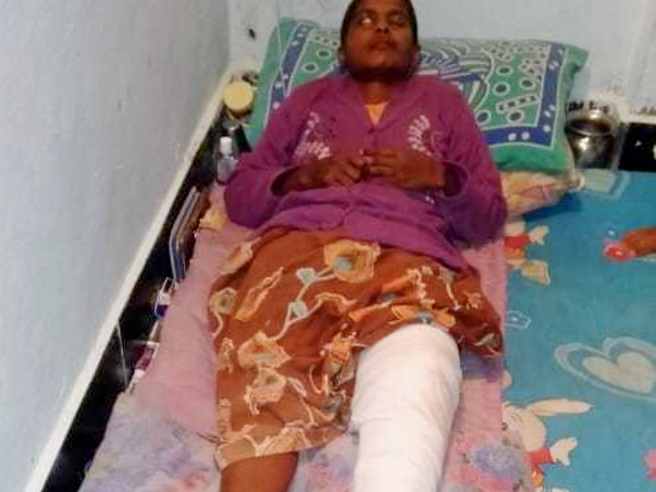 Help Laxmi Recover from Severe Injuries