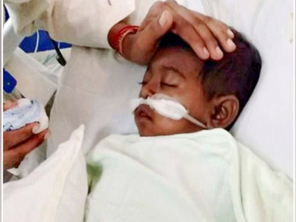 1 Yr Old Needs Your Urgent Support In Fighting Chronic Liver Disease