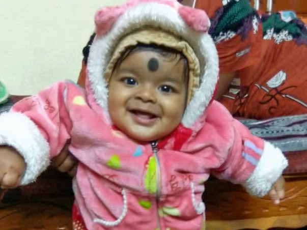 Help 8-month-old Anirudh fight a severe stomach ailment