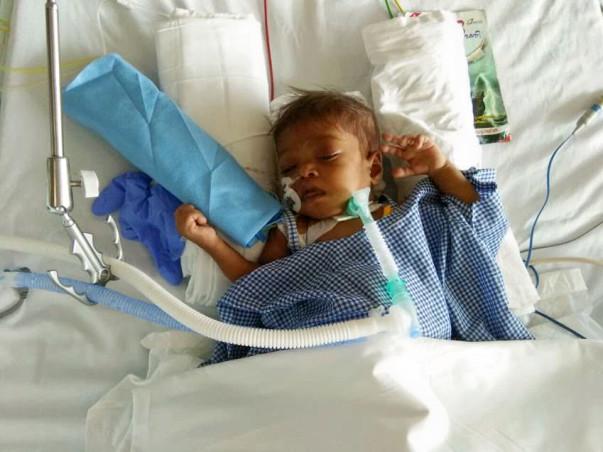 Help little Daya get a liver transplantation
