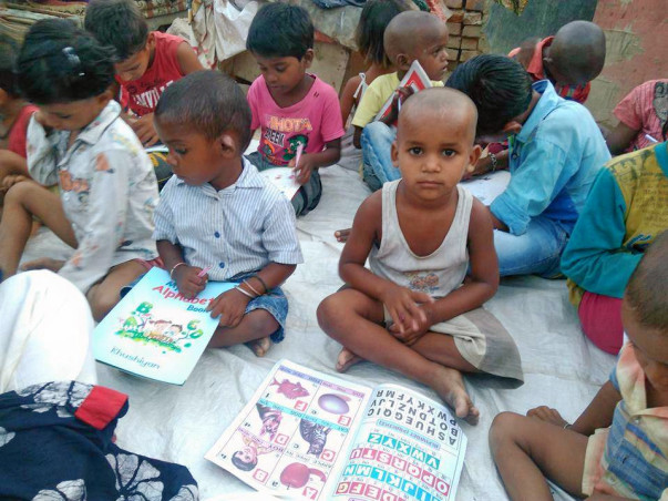Help to empower these underprivileged children of Jhuggi's.