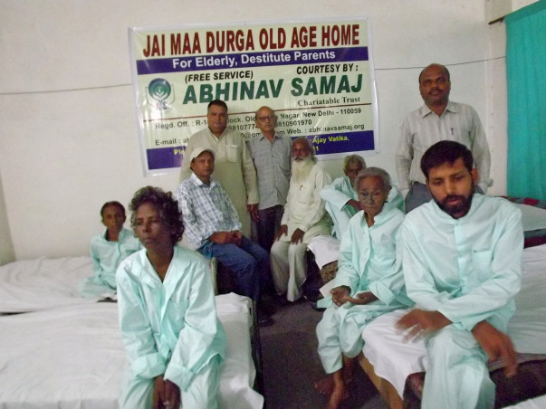 NGO working for the welfare and rehabilitation of destitute elderly