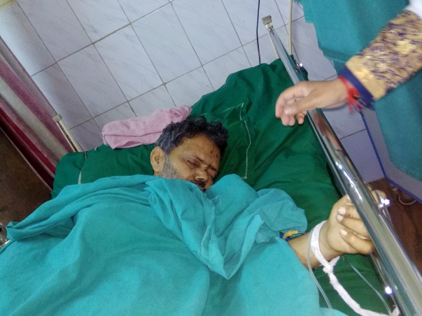 Help Ganesh Fight Lung Infection Due To Double Pneumonia