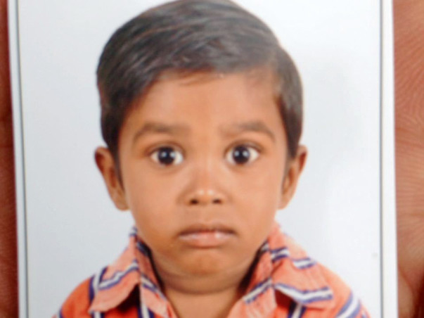 Help 3-year-old Lokesh Fight Blood Cancer.