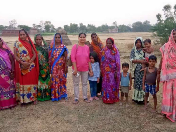 Help these Agrarian Women to Save Ground Water