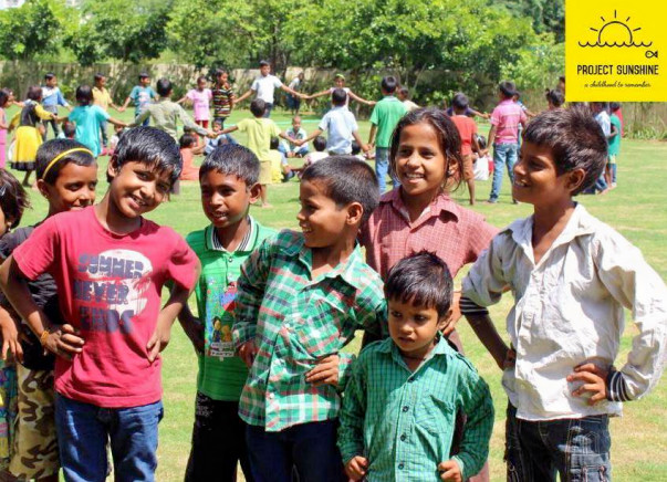 Help Project Sunshine Come To Life In A School In Gurgaon