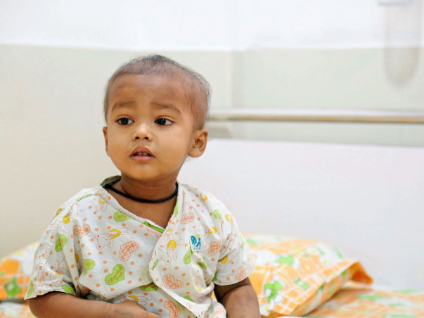 Help 2-year-old Biban fight cancer