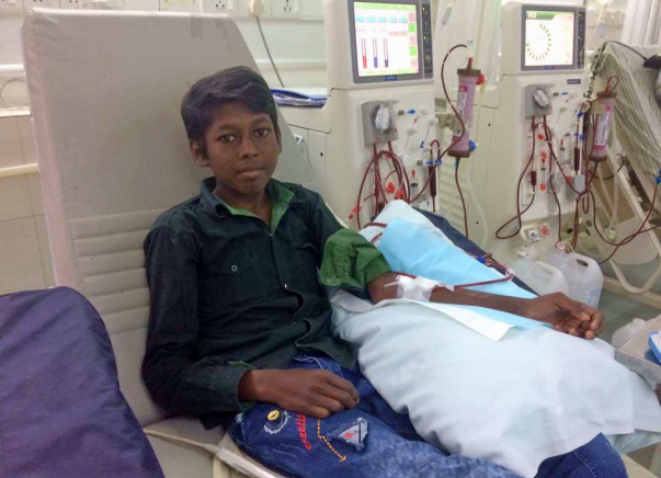 Help 16-year-old Lijo Get Kidney Treatment