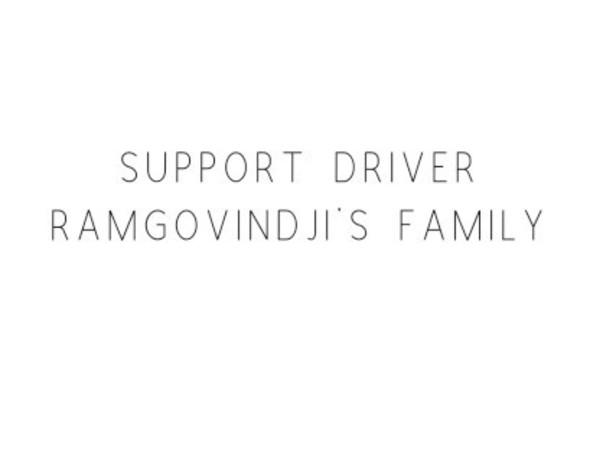 Support Driver Ramgovindji's Family