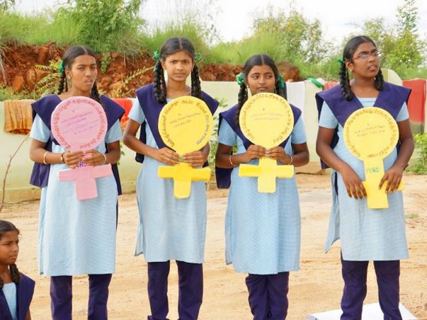 Support for Menstrual Hygiene of 3500 Girls in Telangana #Noshame