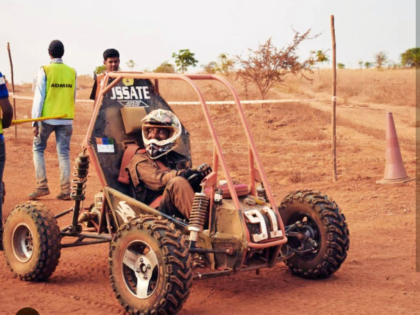 Support Team Vega To Win The BAJA SAE INDIA Championship