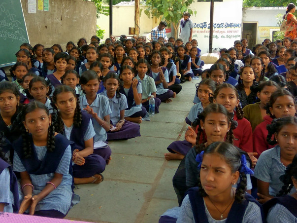 Self-protection And Personal Safety Training For Govt. School Girls