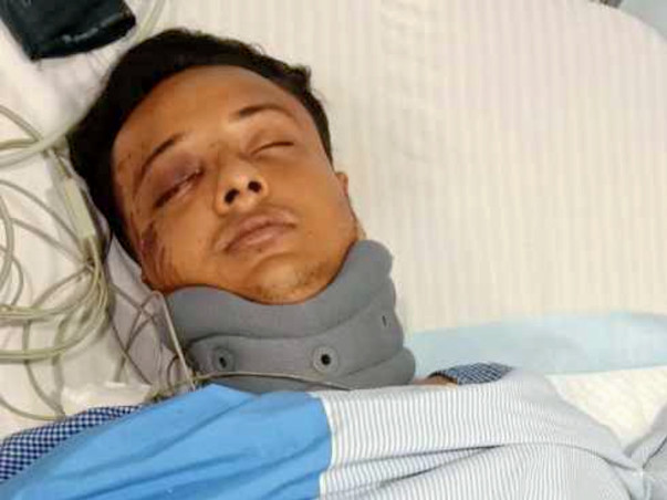 Please help my friend Ayon Gupta to recover from bike accident
