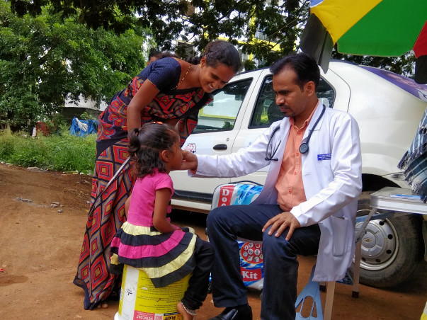 Support Mobiled Clinic Project - Free Multi-speciality Health Check-up