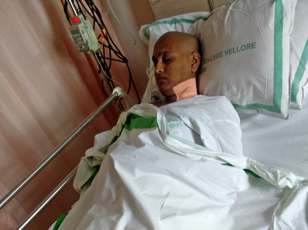 Help My Brother Dharani to Fight Cancer