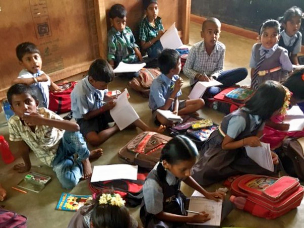 Help GRDT to provide Infrastructure to its Adopted School
