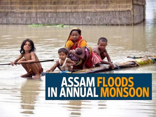 Help For Assam floods: Over 8 lakh affected, 6 dead till 13 July 2019