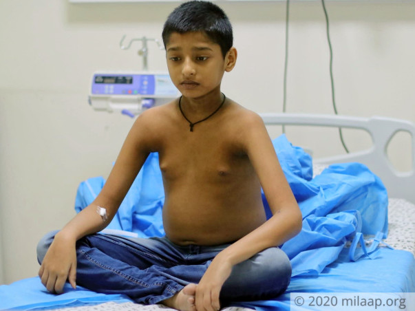 My son needs an urgent Liver Transplant to live