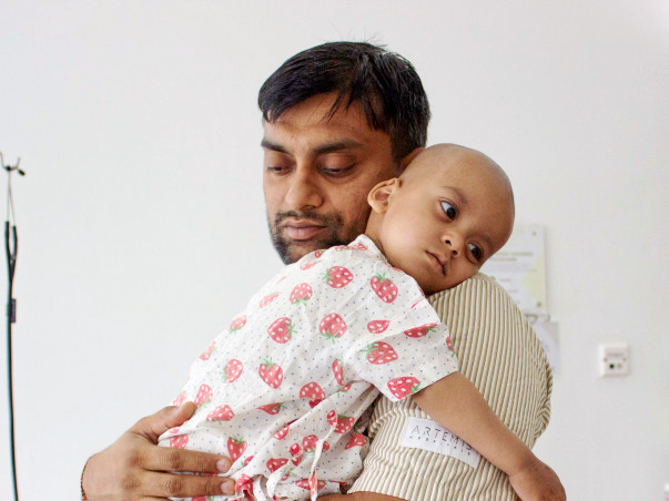 Laksh Mittal needs your help to fight cancer
