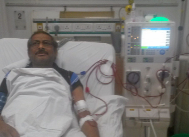 Support Sanjay for a kidney transplant