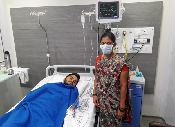 Help Gaurav Fight Against Aplastic Anemia