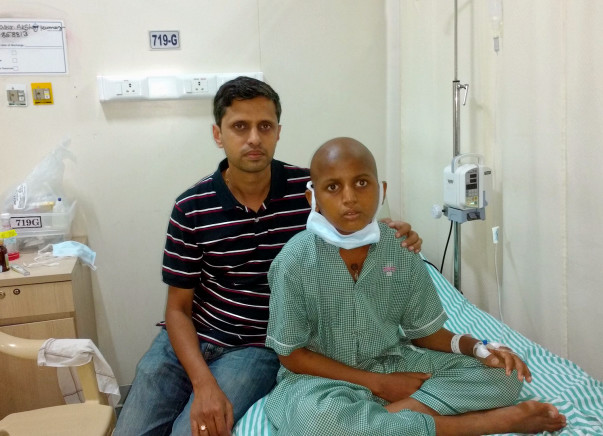 Help 13-Year-Old Akshay Fight Leukemia