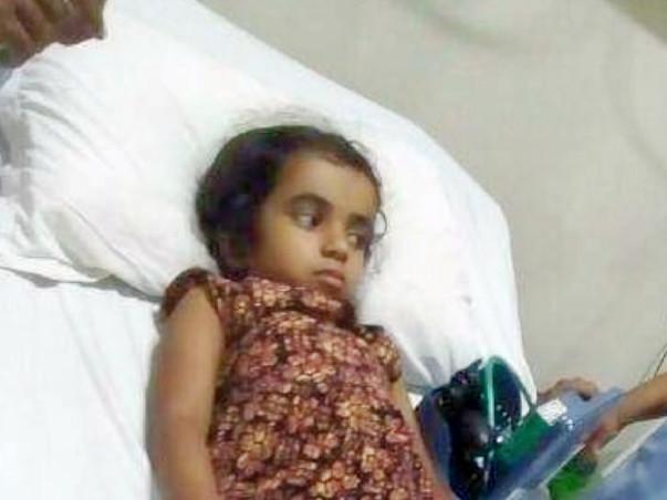 Help 4-Year-Old Poojitha Undergo Brain Surgery