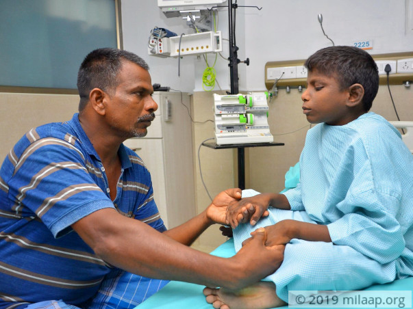 Daily Wager Who Lost Everything In Cyclone Gaja Struggles To Save Son
