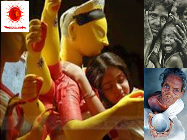 Need your help this Durga Puja to serve the most vulnerable Hindus