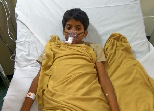 Help 10-year-old Basudev undergo an urgent bone marrow transplant