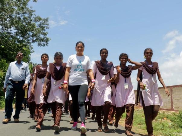 TAKE ONE STEP IN A #BILLIONSTEPSFORWOMEN TO EMPOWER WOMEN IN INDIA