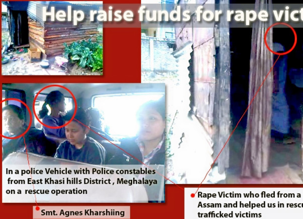 Fundraising to help the rape victims and trafficked women in Meghalaya. Please join my cause!