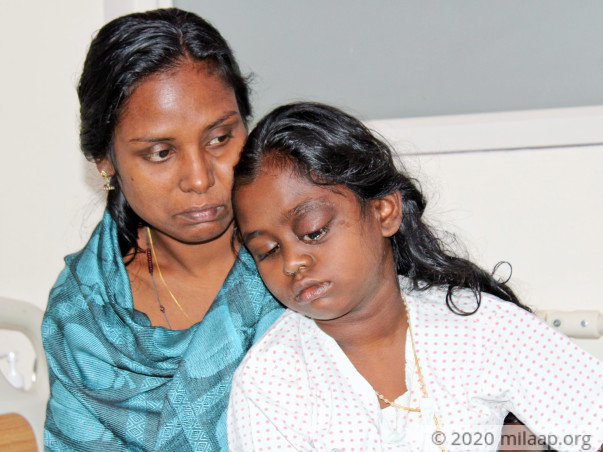 Mother Struggles To Save Her 10-Year-Old From Eye Cancer