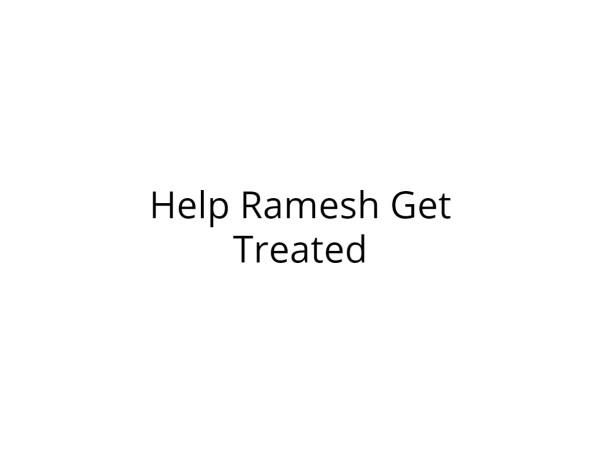 Help Ramesh Get Treated for Pneumonia