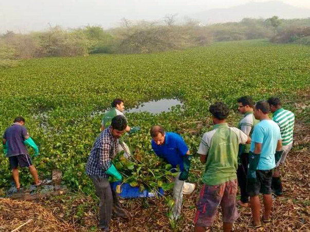 Support PPSS Trust To Restore Putheri  Lake & Clear Dumped Waste.