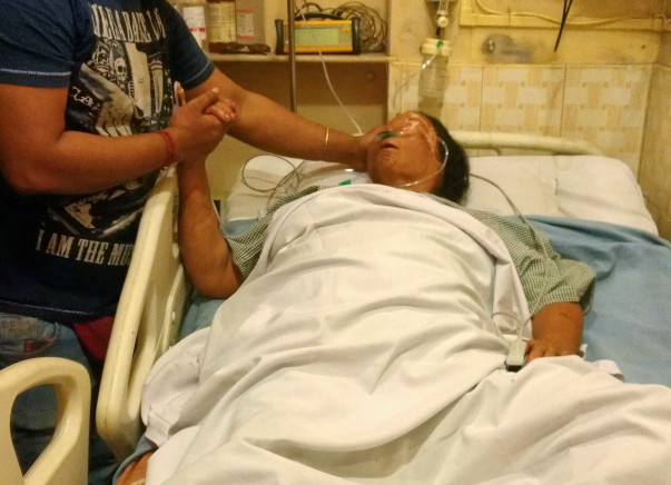 Save 64 Year Old Bhabani Dasgupta From A Brain Attack