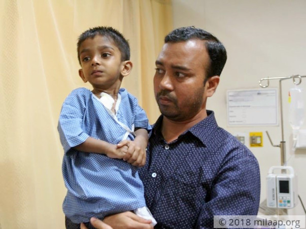 Help Abdul fight a severe cancer that is slowly killing him